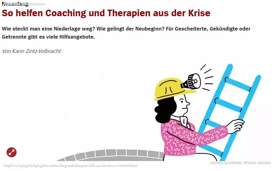 """""""SPIEGEL WISSEN"""": Wie Coaching aus der Krise hilft"""